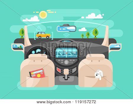 Automobile computer assistent