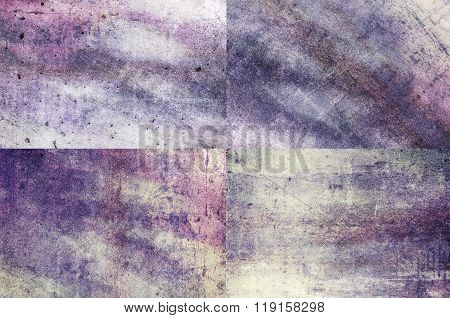 Purple Colored Grunge Texture Backgrounds