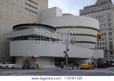 Solomon R. Guggenheim Museum in New York City