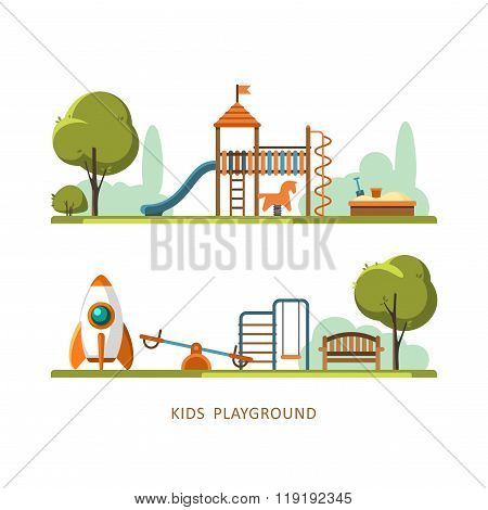 Kids Playground Children's Playground Park
