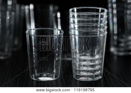 Transparent Plastic Cup