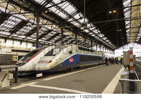 The Gare De Lyon; Paris, France.
