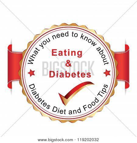 Diabetes campaign badge