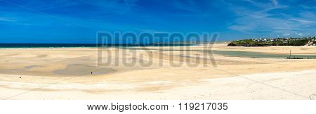 Porthkidney Sands Beach Cornwall England