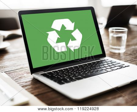 Recycle Green Environment Conservation Eco Concept