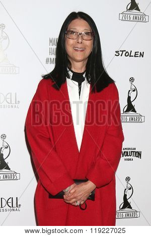 LOS ANGELES - FEB 20:  Christine Lai-Johnson at the Make-Up Artists And Hair Stylists Guild Awards at the Paramount Studios on February 20, 2016 in Los Angeles, CA