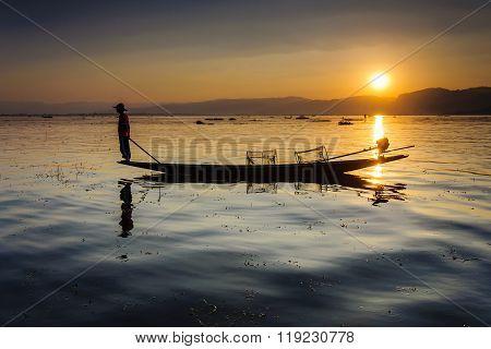 A local fisherman
