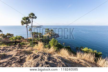 Laem Phromthep Viewpoint (phromthep Cape Viewpoint) In Phuket,