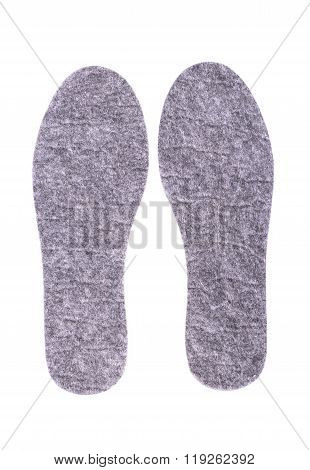 Insole Made Of Felt