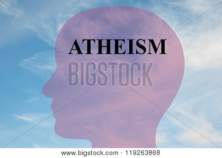 Atheism Concept
