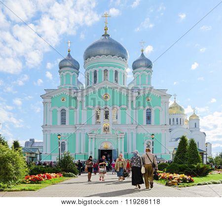 Trinity Cathedral Of Holy Trinity Seraphim-diveevo Nunnery,  Russia