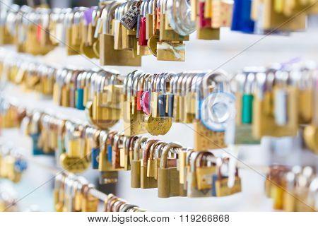 Forever love lockers.