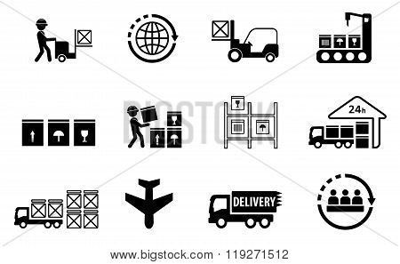 cargo delivery set
