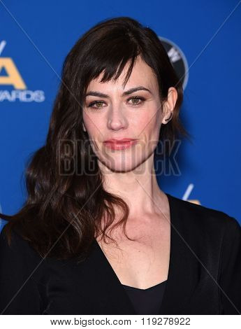 LOS ANGELES - FEB 06:  Maggie Siff arrives to the Directors Guild Awards 2016  on February 06, 2016 in Century City, CA.
