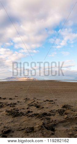 Distant Ridges Cap The Lake
