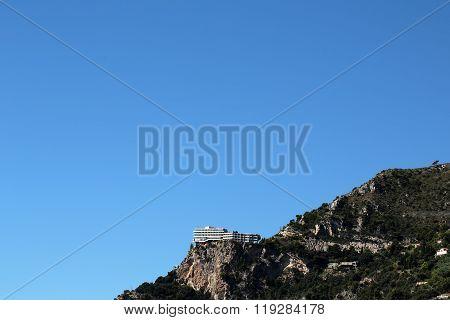 Monte Carlo Monaco Mountain Top