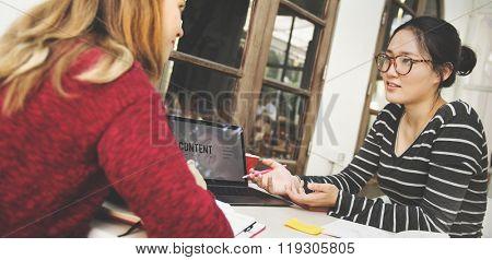College Communication Conversation Campus Concept