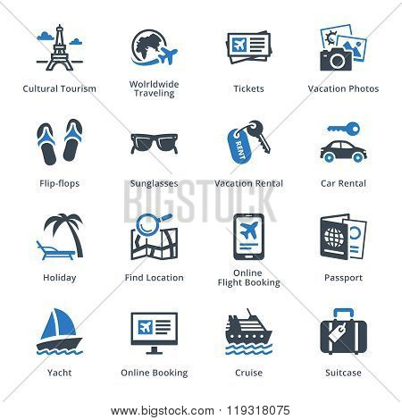 Tourism & Travel Icons -