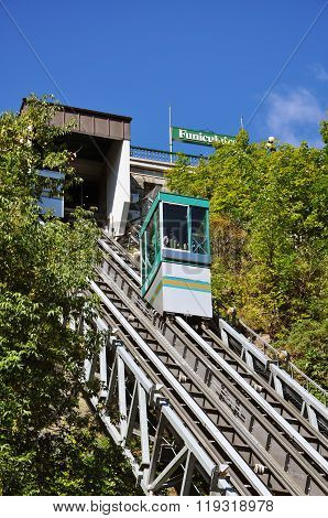 Funicular of Old Quebec City, Canada