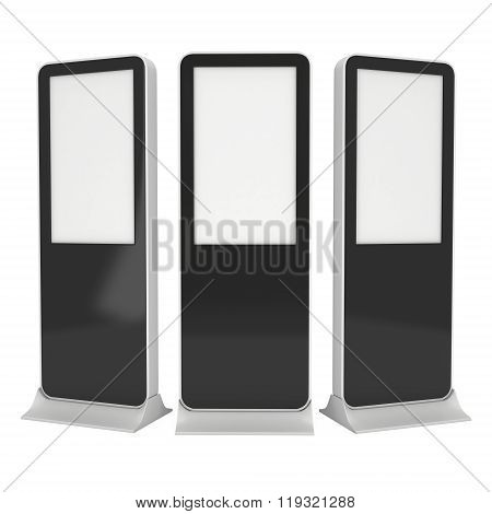 Trade Show Booth Lcd Display Stand.