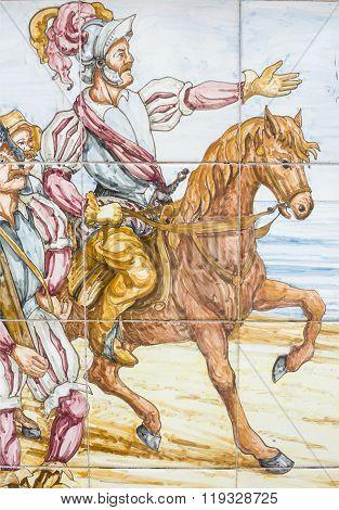 Hernan Cortes Mexico Entry