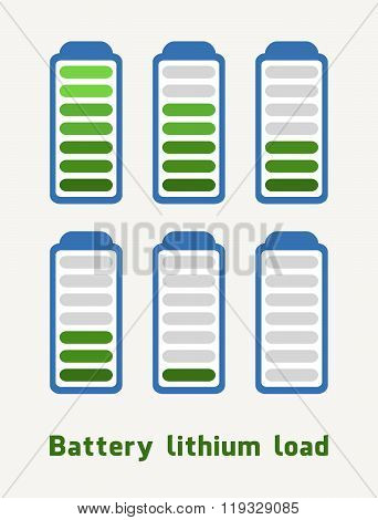 Battery Lithium Load