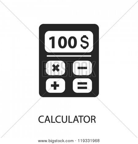 calculator icon, calculator logo, calculator icon vector, calculator illustration, calculator symbol