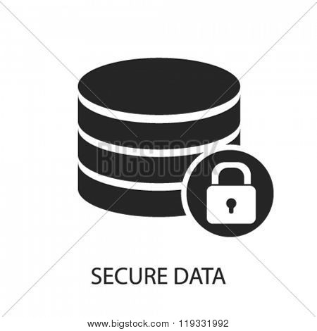 secure data icon, secure data logo, secure data icon vector, secure data illustration, secure data symbol, secure data isolated, secure data image, secure data drawing, secure data concept