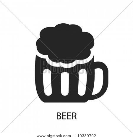 beer icon, beer logo, beer icon vector, beer illustration, beer symbol