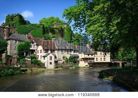 Segur-le-chateau, Medieval Village In France