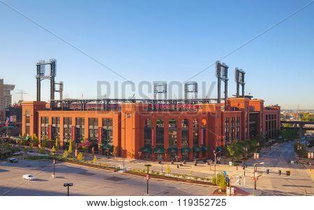 Busch Baseball Stadium In St Louis, Mo
