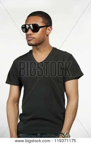 Hip African American Male