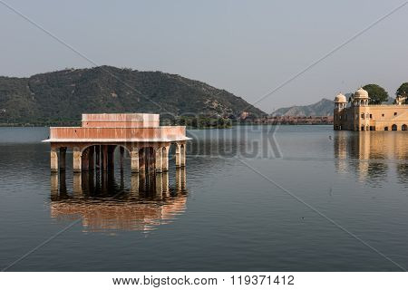 Rajputana Architecture of Jal Mahal