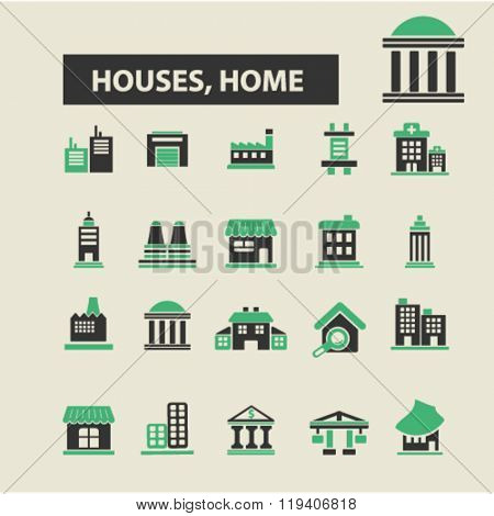 houses, home icons, houses, home logo, houses, home vector, houses, home flat illustration concept, houses, home infographics, houses, home symbols,