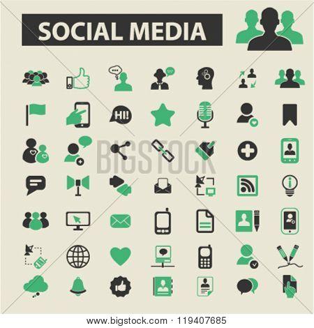social media icons, social media logo, social media vector, social media flat illustration concept, social media infographics, social media symbols,