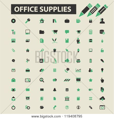 office supplies icons, office supplies logo, office supplies vector, office supplies flat illustration concept, office supplies infographics, office supplies symbols,