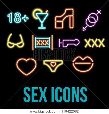 Erotic xxx Icons