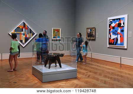 Art Gallery Visitors