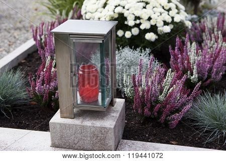 Candle At A Grave