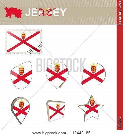 Jersey Flag Set, Flag Set #221