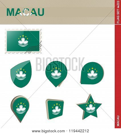 Macau Flag Set, Flag Set #223