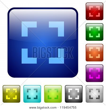 Color Selector Tool Square Buttons