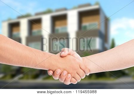 Real Estate Business Concept