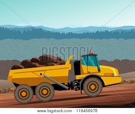 Articulated Hauler Dump Truck