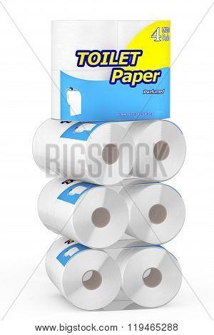 Sack Of Toilet Paper Package