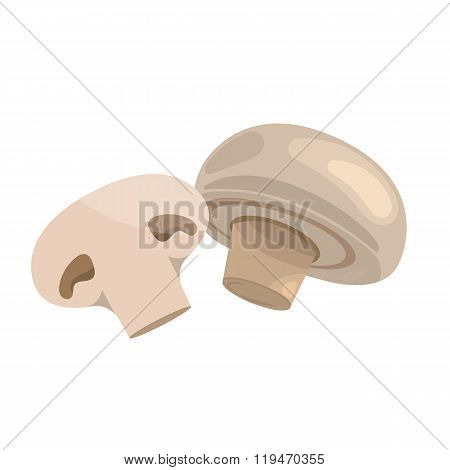 Vector illustration of champignon