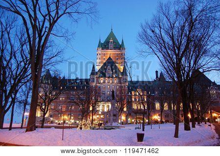 Chateau Frontenac, Quebec City, Canada