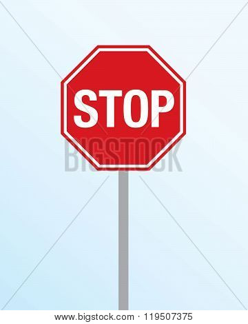 Vector Stop Sign