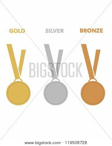 Vector Athletic Championship Medal Set
