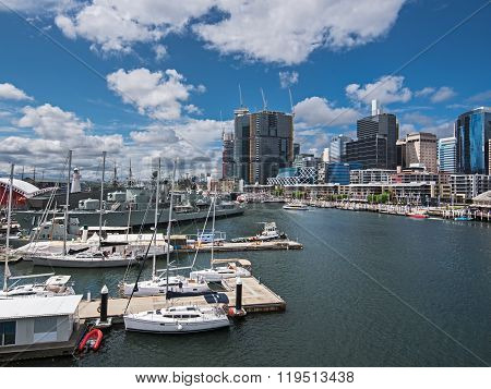 Darling Harbor During The Day